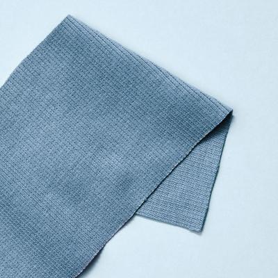 Organic 2x1 Rib - Faded Blue
