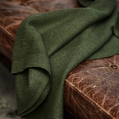 Organic Woolen Mold Sweat - Green Khaki