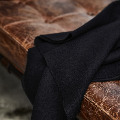 Organic Woolen Mold Sweat - Black
