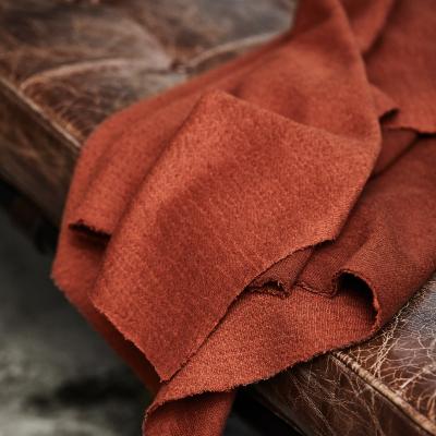 REMNANT 30x125 // Organic Woolen Mold Sweat - Sienna