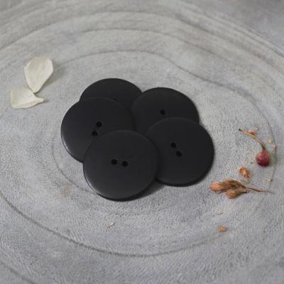 Palm Buttons, 25 mm - Black