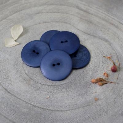 Palm Buttons, 25 mm - Cobalt