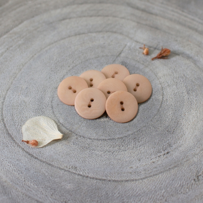 Palm Buttons, 15 mm - Maple