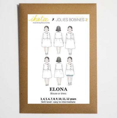 Elona Blouse & Dress (3-12)