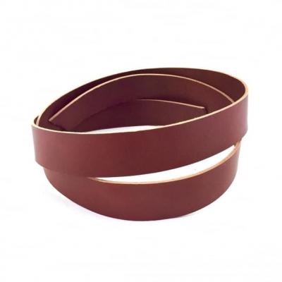 Leather strap (1,4-1,6 mm), cognac 25 mm