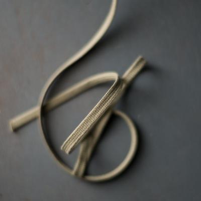 Drawstring webbing, 10 mm - Sage