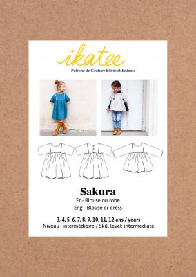 Sakura Blouse & Dress (3-12Y)