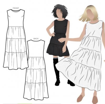 Nova Midi Dress (size 10-22)
