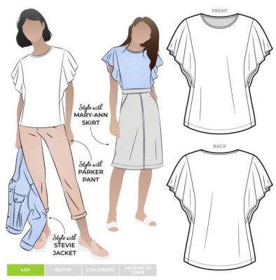 Posie Knit Top (size 18-30)