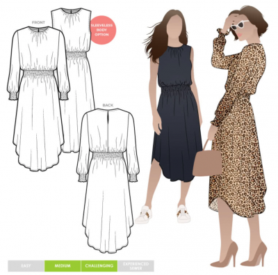 Asha Dress (size 18-30)