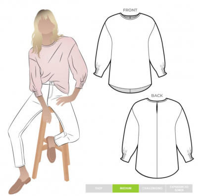 Mimi Woven Top (size 10-22)