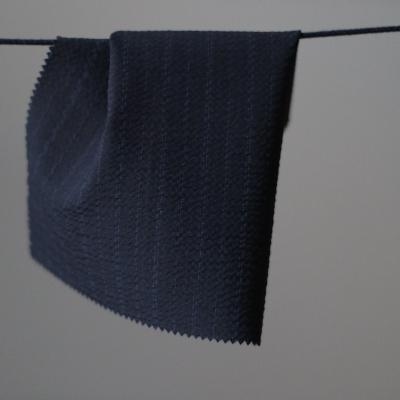 REMNANT 55x150 // Sara Stripe - Let uld seersucker