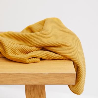 Self-stripe Ottoman Knit - Amber