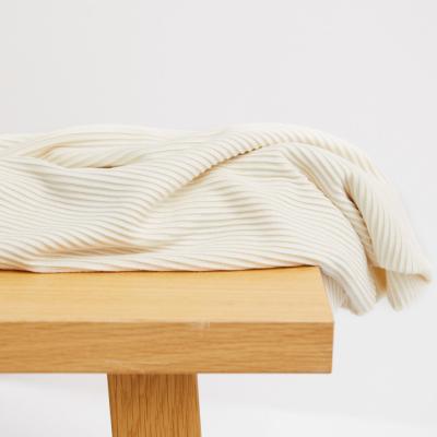 Self-stripe Ottoman Knit - Shell