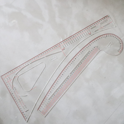 Tailor's Curve + Angle Ruler Set