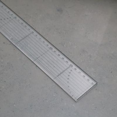 Tailor's Straight Ruler - Medium