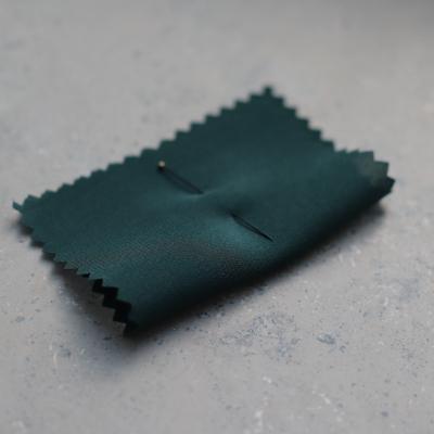 Silk Crepe de Chine - Dark Green