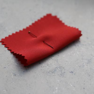 Silk Crepe de Chine - Red