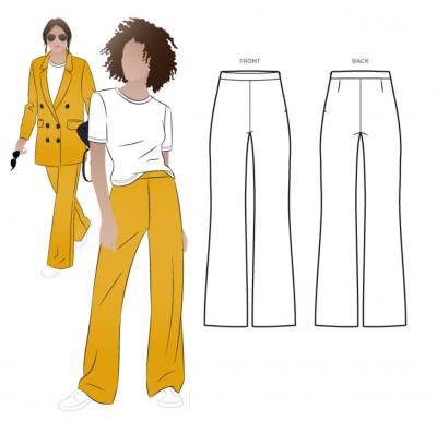 McKenzie Woven Pant (size 18-30)