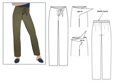 Trudy Pant (size 4-16)