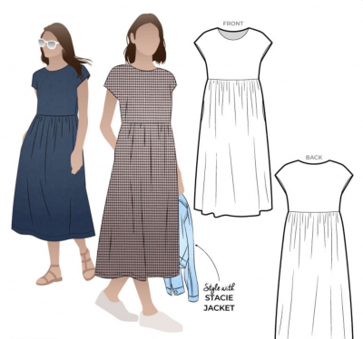 Montana Midi Dress (size 18-30)
