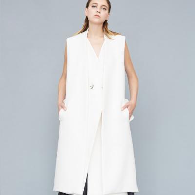 Le 800 - Sleeveless coat and gilet