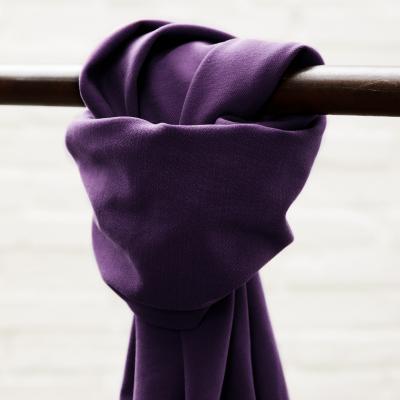 Soft Stretch Twill - Purple Night