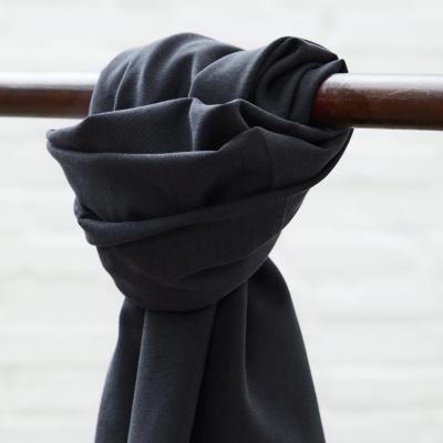 Soft Stretch Twill - Dark Navy