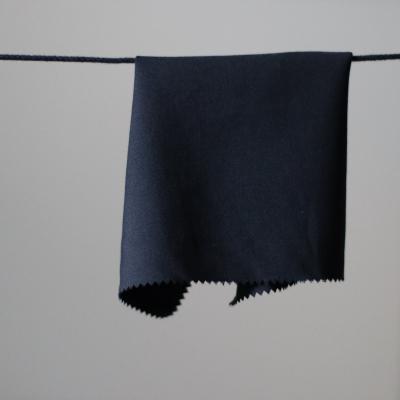 Nero Plain - Light black wool