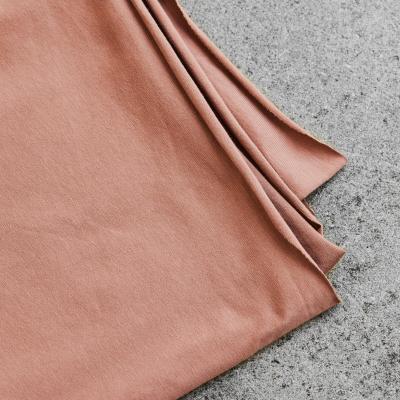 Organic Single Stretch Jersey - Old Rose