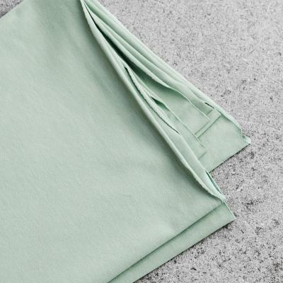 Organic Single Stretch Jersey - Sage Green