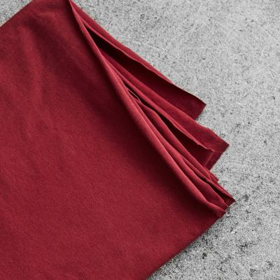 Organic Single Stretch Jersey - Red