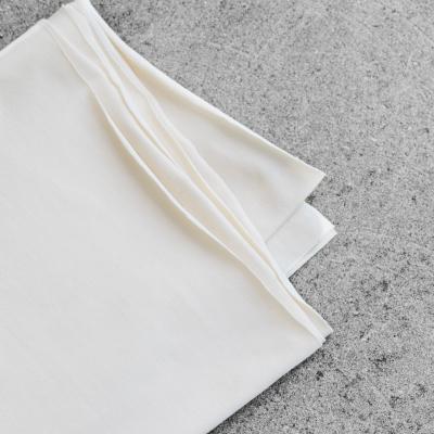 Organic Single Stretch Jersey - Creamy White