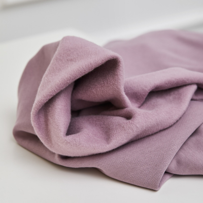 Organic Basic Brushed Sweat - Lilac