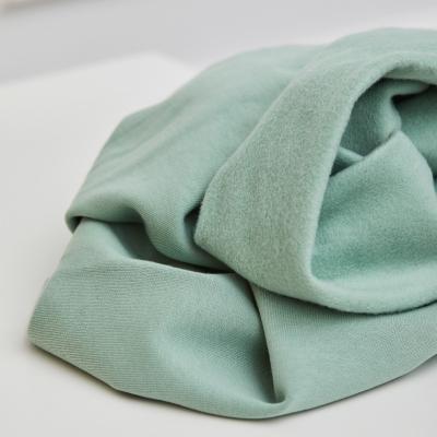 Organic Basic Brushed Sweat - Sage Green