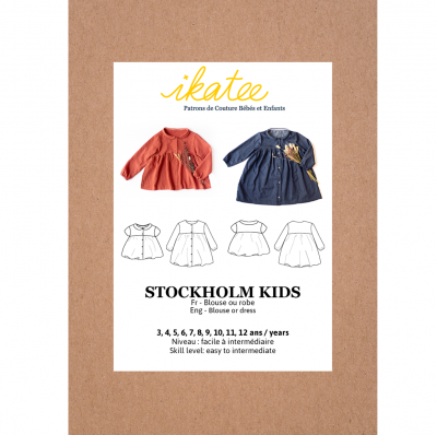 Stockholm Dress & Blouse (3-12Y)