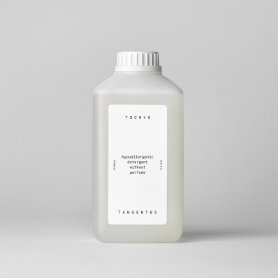 Hypoallergenic detergent without perfume