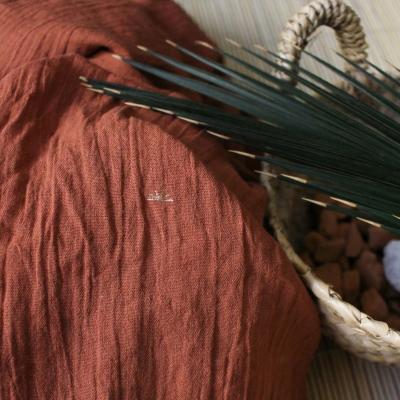 Sunset Chestnut - Cotton Crepe