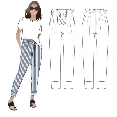 Tully Pants (size 18-30)