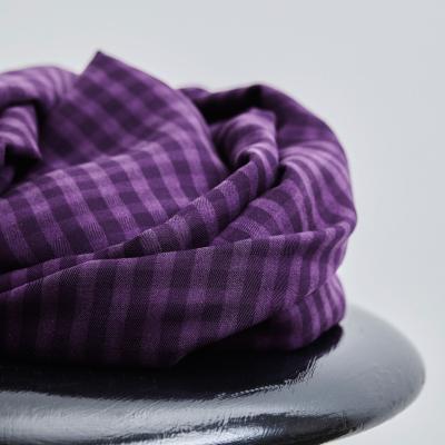 Two-tone Check - Purple Night