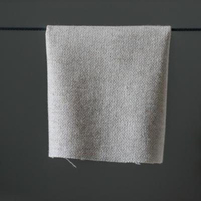 Balm Herringbone Tweed - Creme