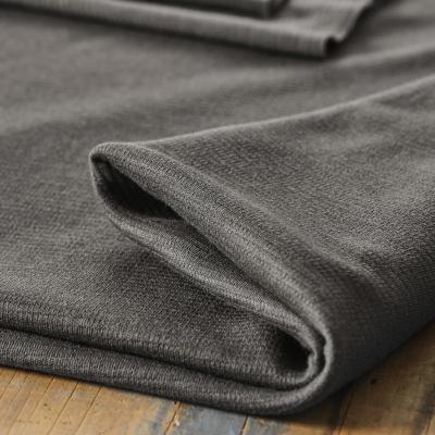 Organic Woolen Ottoman - Calm Grey