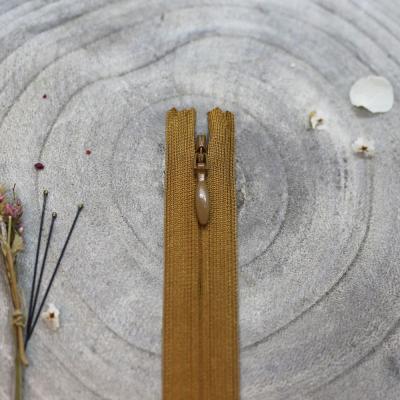 Invisible zipper, 60 cm - Ochre