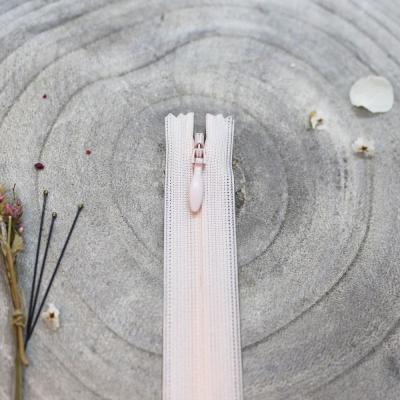 Invisible zipper, 60 cm - Powder
